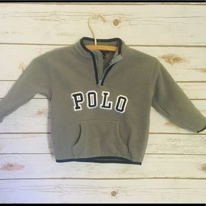 Kids POLO fleece pull over